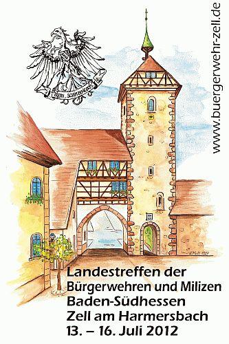 Landestreffen der Bürgerwehren und Milizen Baden-Südhessen